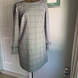 Grey Banana Republic sheath dress